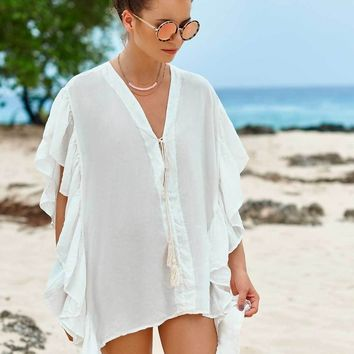 Ivory Resort Cover Dress