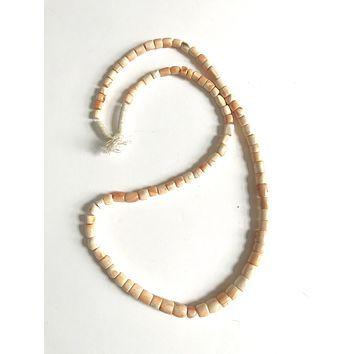 African Trade Beads w/ Antique Shells