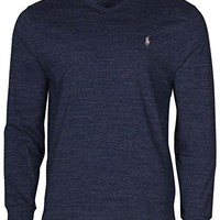 Polo Ralph Lauren Mens Long Sleeve V Neck Tshirt