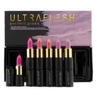 Ultraflesh Perfect Pinks Mini Lipstick Set: 6x Mini Lipstick by Fusion Beauty @ Perfume Emporium