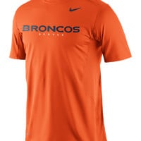 Nike Pro Combat Hypercool Fitted Speed 3 (NFL Broncos) Men's Shirt