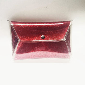 glitters sequins clutch handbag sparkle purse glitter envelope bag security bag sparkle bag red bag metallic hanbags party elegant bag vinyl