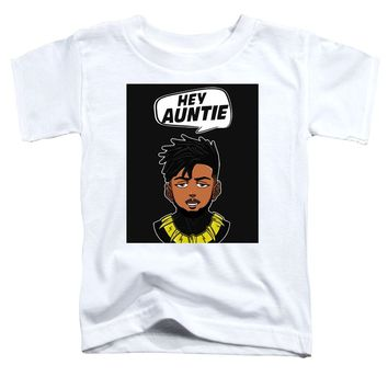 Hey Auntie - Toddler T-Shirt The Black Panther
