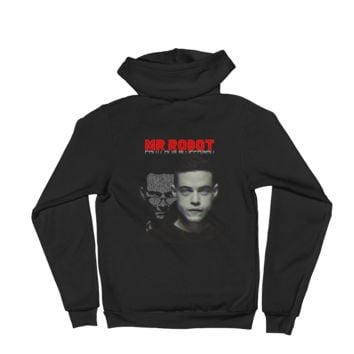 Mr Robot Control Is An Illusion Vs Hoodie