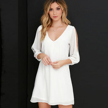 Cosy Chiffon Dress