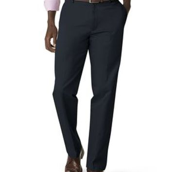 Signature Khaki Pants, Straight Fit - Dockers Navy - Men's