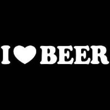 I Love Beer Tshirt. Great Printed Tshirt For Ladies Mens Style All Sizes And Colors Great Ideas For Xmas Gifts.