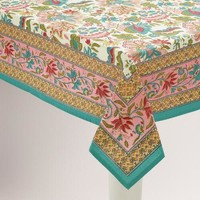 Palampore Floral Reeya Tablecloth