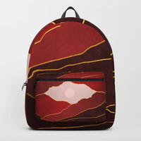 Surreal sunset 05 Backpack by marcogonzalez