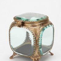 Urban Outfitters - Beveled Glass Jewelry Box