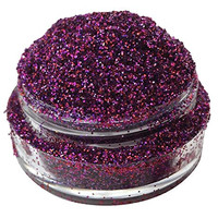 Lumikki Cosmetics Glitter For Eyeshadow / Eye Shadow / Eyes / Face / Lips / Nails Makeup - Compare to NYX - Shimmer Makeup Powder - Holographic Cosmetic Loose Glitter (Fuchsia Love)