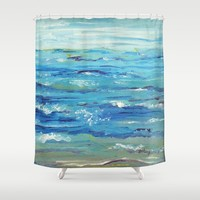 Ocean Shower Curtain by Gretzky | Society6