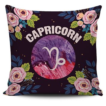 Capricorn Vibes Pillow Cover