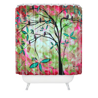 Madart Inc. Through The Looking Glass Shower Curtain