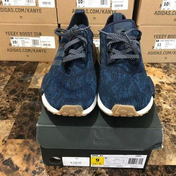 ONETOW NEW Adidas NMD R1 Legion Ink Trace Blue Gum Foot Locker Exclusive CQ0859 Size 9