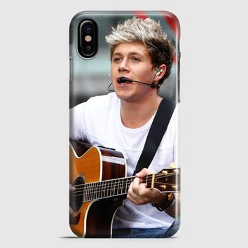 Niall Horan Collage One Direction iPhone X Case