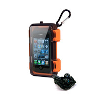 Eco Pod Waterproof iPhone Case with Ear Buds at Brookstone—Buy Now!