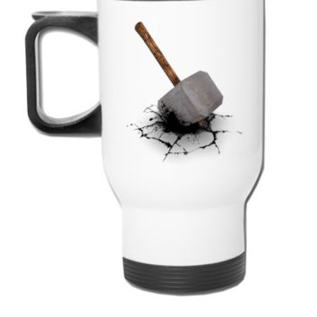 hammer floor - Travel Mug