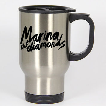 Marina And The Diamonds travel mugs,coffee mug,tea mug,14oz