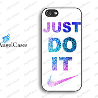 just do it iphone 4 case glitter iphone 5 case iphone 5s 5c case for iphone 4 for iphone 5 for iphone 5c for iphone 5s make your own 608