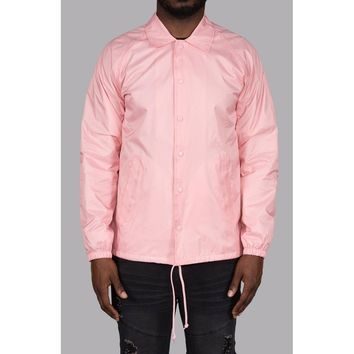 Phil Coaches Jacket (Pink)