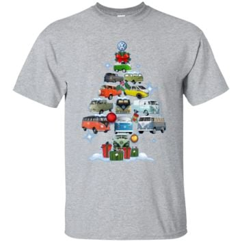 Volkswagen Bus Best Selling T-Shirt Merry Christmass