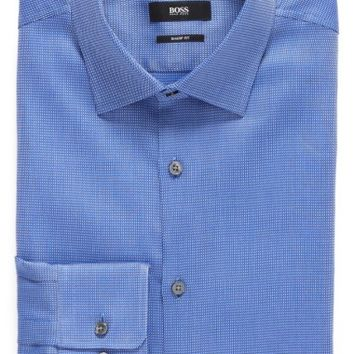 BOSS Sharp Fit Solid Dress Shirt | Nordstrom