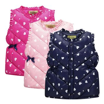 Pink, Light Pink, Dark Blue Hearts Collection Kid Child Baby Toddler New Born Winter Snow Coat