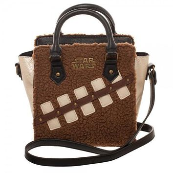 Star Wars Episode 8 Chewie and Porg Mini Brief Handbag Purse