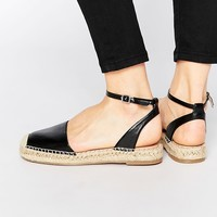London Rebel Sling Espadrilles