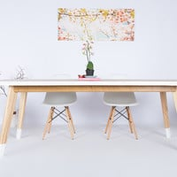 """""""The Lihue"""", Live Edge Elm Dining Table"""