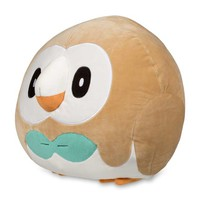Rowlet Squishy Plush - 10""
