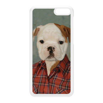 Buddy Bulldog White Hard Plastic Case for Amazon Fire Phone by Beat Up Creations