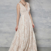 Right Here, Right Wow Dress in Ivory
