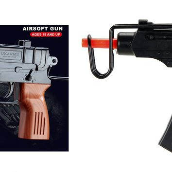 SP1308 High performance Plastic Spring Airsoft Pistol Set (Includes 2 guns in 1 package)