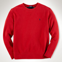 FRENCH-RIB COTTON SWEATSHIRT
