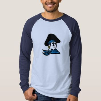 Pirate Tricorn Hat Neckerchief Retro T-Shirt
