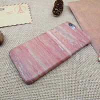 Cute pink marble phone case for iPhone 7 7 plus iphone 5 5s SE 6 6s 6 plus 6s plus + Nice gift box 072601