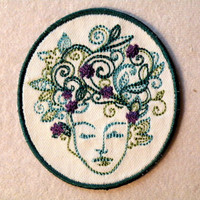 Mother Earth Iron on Patch- small