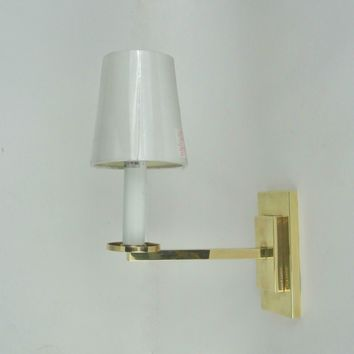 Ralph Lauren Brass Railroad Sconce