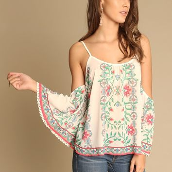 Baker Floral Top | Threadsence