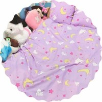 Sailor Moon Kawaii Rabbit And Moon Pattern Four Pieces Bedding SP167473