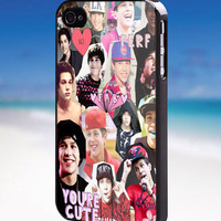Austin Mahone Collage - For iPhone, Samsung Galaxy, and iPod. Please choose the option