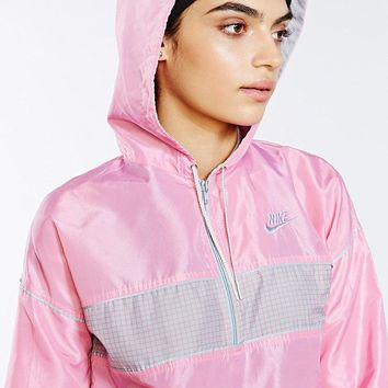 "So good. ""Vintage Bubble Gum Nike Windbreaker Jacket PINK"" on Dash Hudson"
