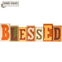 Blessed MDF & Burlap Decor | Hobby Lobby