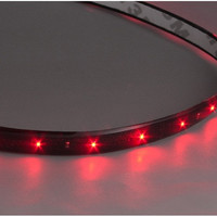 12V 60cm Car Auto LED Red Flexible Strip Light