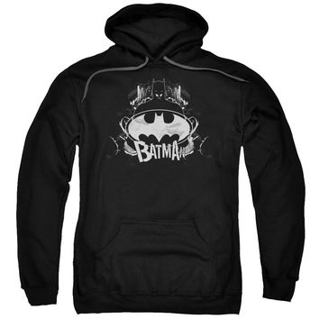 Batman - Grim &Amp; Gritty Adult Pull Over Hoodie