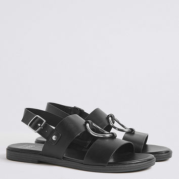 Round Trim Sandals | M&S Collection | M&S