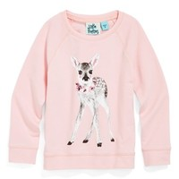 Little Pretties 'Deer' Sweatshirt (Toddler Girls, Little Girls & Big Girls)
