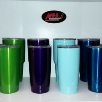Powder Coated 20oz, 30oz Ozark Tumbler,RTIC,SIC,Yeti,Kuer